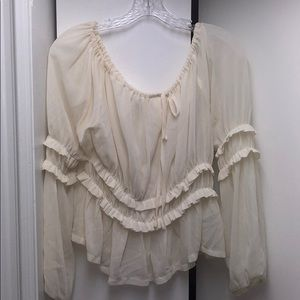 Gorgeous ruffle top